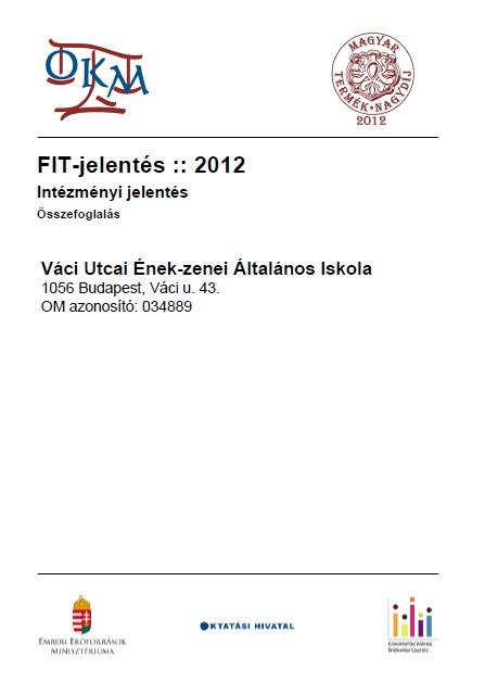 OKEV 2012 intézményi összefoglaló