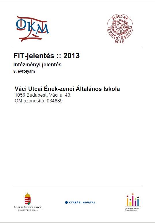 OKEV 2013 8. osztály