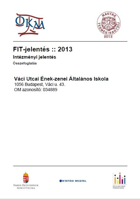OKEV 2013 intézményi összefoglaló