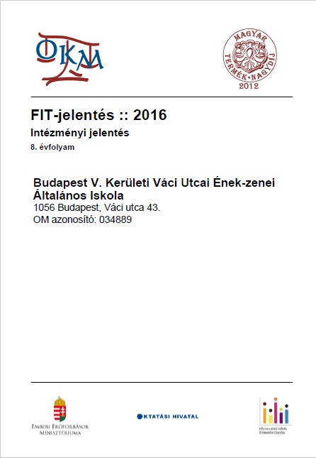 OKEV 2016 intézményi összefoglaló