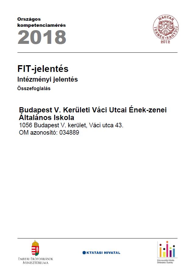 OKEV 2018 intézményi összefoglaló